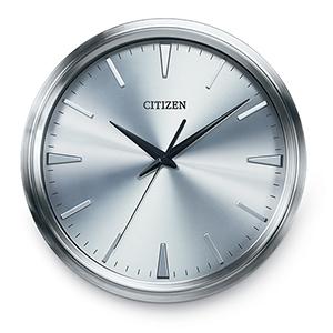 CC2004 Gallery Silver Wall Clock