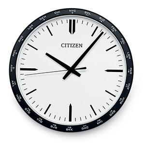 CC2006 Gallery Black and White Wall Clock