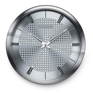 CC2008 Gallery Silver Wall Clock