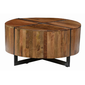 Raymond Brown Round Coffee Table