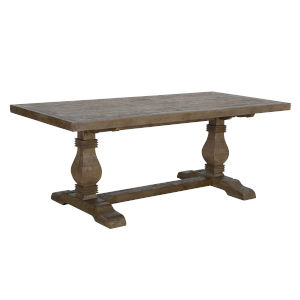 Quincy Desert Gray 78-Inch Dining Table