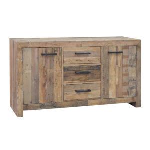Norman Natural Pine Three-Drawer Buffet