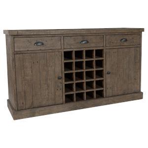 Tuscany Desert Gray Wine Cabinet