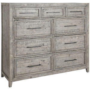 Ridge Stone Gray Nine-Drawer Nine-Drawer Dresser