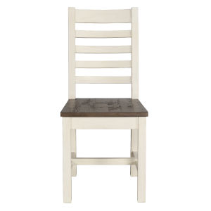 Kentwood Lark Brown and Antique White Dining Chair