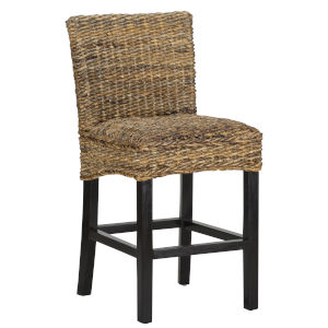 Portman Brown and Black Counterstool