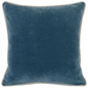 Colby Marine Blue Throw Pillow