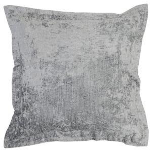 Brooke Grey Throw Pillow