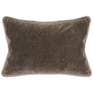 Colby 14-Inch Brown Throw Pillow