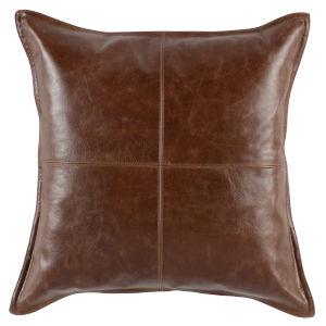 Naveah Brown Throw Pillow
