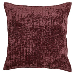 Lucy  Red Throw Pillow