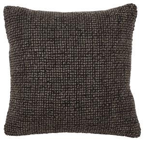 Sara Chocolate Brown Throw Pillow