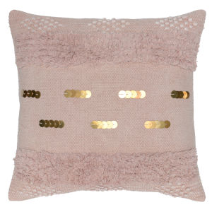 Angela Blush Throw Pillow