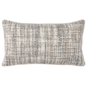 Bonnie Ivory and Natural Throw Pillow