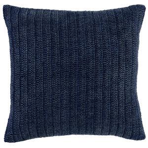 Callie Indigo Square Throw Pillow