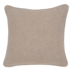 Emily Natural Throw Pillow
