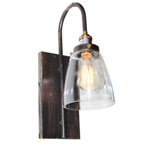 Greenwich Copper and Brown 5.5-Inch One-Light Wall Sconce