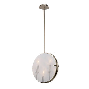 Harbor Point Satin Nickel Three-Light Pendant