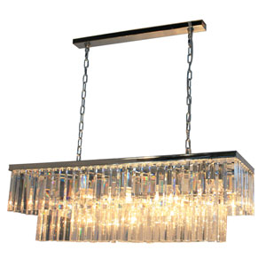 El Dorado Chrome 13-Light Island Fixture
