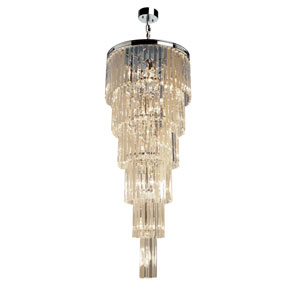 El Dorado Java Brown 17-Light Pendant