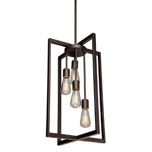 Gastown Oil Rubbed Bronze Four-Light Pendant