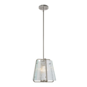 La Traviata Brushed Nickel One-Light Pendant