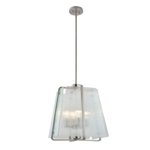 La Traviata Brushed Nickel Four-Light Pendant
