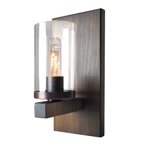 Jasper Park Bronze One-Light Wall Sconce