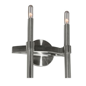 Encore Polished Nickel Two-Light Wall Sconce