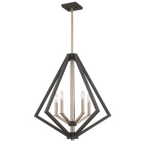 Breezy Point Bronze Five-Light Pendant