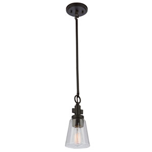Clarence Oil Rubbed Bronze One-Light Mini Pendant