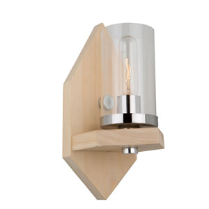 Canyon Creek Authentic Organic Pine One-Light Wall Sconce