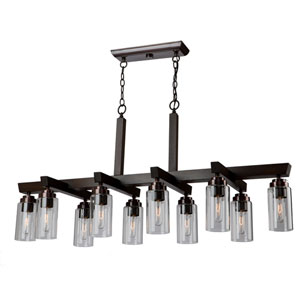 Home Glow Brunito 10-Light Chandelier