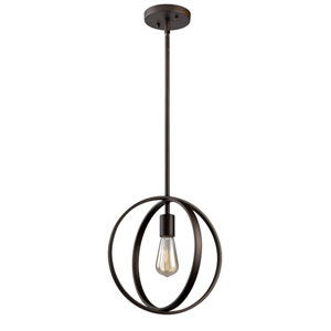 Newport Oil Rubbed Bronze One-Light Pendant