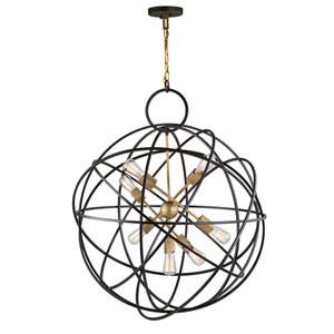 Orbit Oil Rubbed Bronze Seven-Light Pendant
