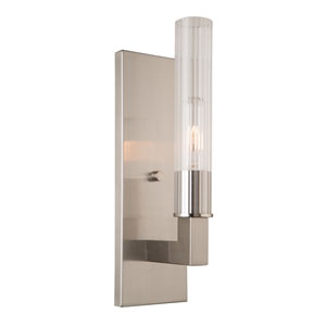 Bentley Brushed Nickel One-Light Wall Sconce
