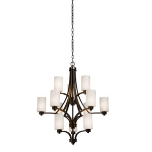 Parkdale 12-Light Oil Rubbed Bronze Chandelier