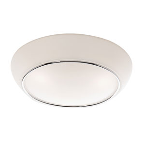 Flushmount Chrome Flush Mount Fixture