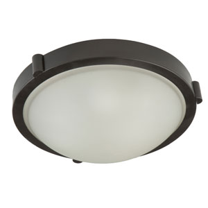 Boise Brushed Nickel 5.5-Inch One Light Flush Mount