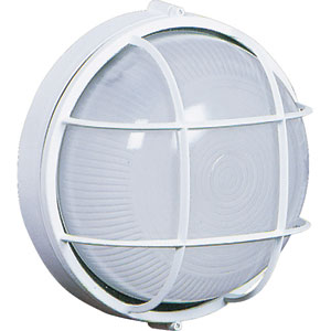 Marine White Outdoor Wall Mounted Fixture