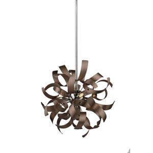 Belair Copper Three-Light Pendant
