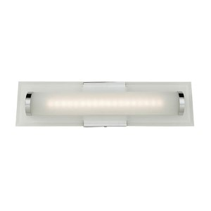 Turin Chrome One-Light 18-Inch Wide LED Bath Vanity Fixture