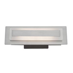 Echo Park Brushed Nickel LED 18-Inch One-Light Bathroom Vanity