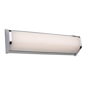 Crosby Chrome LED 18-Inch One-Light Bathroom Vanity