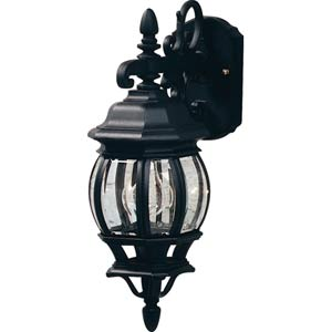 European Styled Lantern Down Classico Small Outdoor Wall Mount