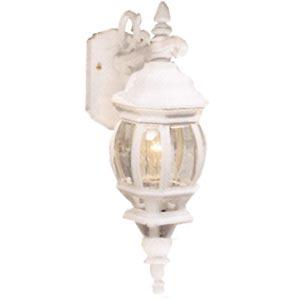 Classico White Wall Mount Lantern