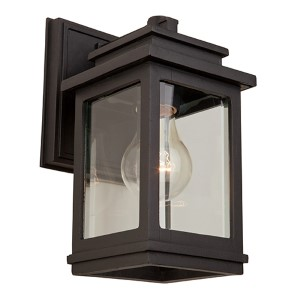Fremont Oil Rubbed Bronze One-Light 5-Inch Wide Outdoor Wall Sconce