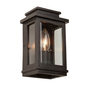 Fremont Oil Rubbed Bronze One-Light 8-Inch High Outdoor Wall Sconce