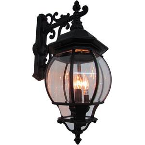 Classic Four-Light Black Outdoor
