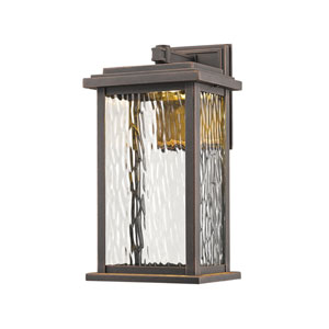 Sussex Oil Rubbed Bronze LED Six-Inch One-Light Outdoor Wall Sconce